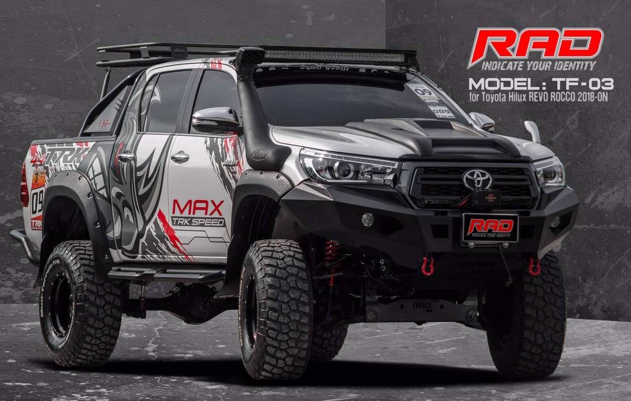 RAD Bumper for Toyota Hilux in South Africa