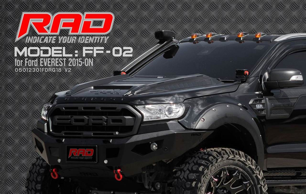 RAD Bumper Model: FF-02 for Ford Everest 2018-on