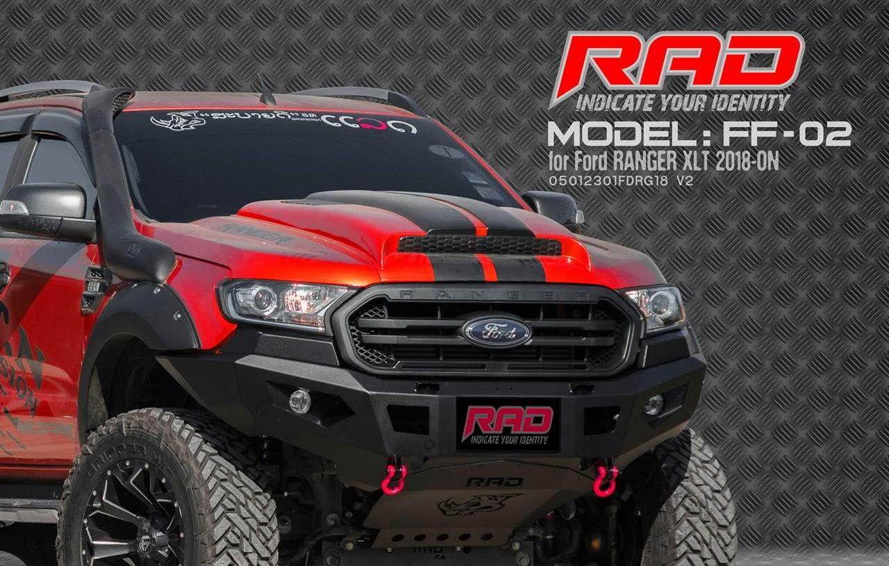 RAD Bumper Model: FF-02 for Ford Ranger XLT-ON