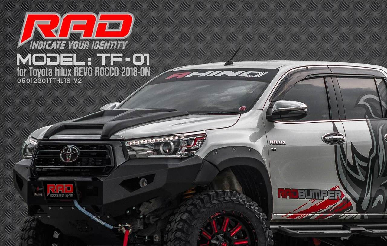 RAD Bumper Model: TF-01 for Toyota Hilux Revco Rocco 2018-ONn