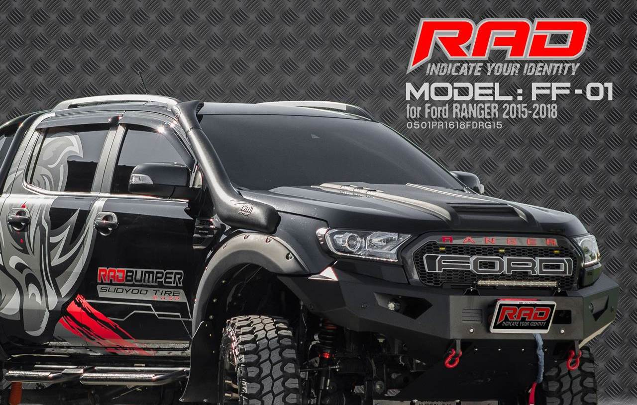 RAD Bumper Model: FF-01 for Ford Ranger 2015-2018