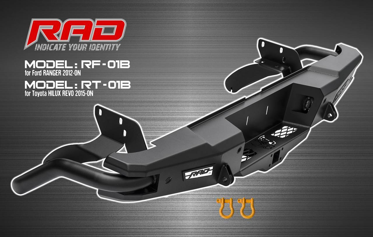 RAD Bumper Models for Ford Ranger and Toyota Hilux