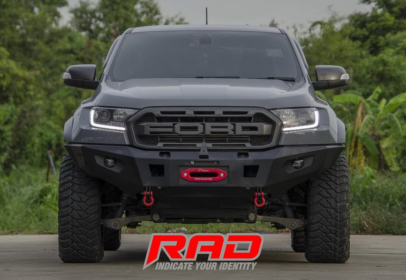 Rad on on Ford Raptor